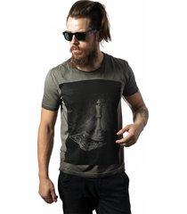 camiseta skull lab king cinza - kanui