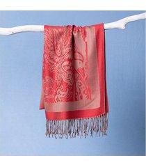 lenço ingrid cor: vermelho - tamanho: único