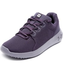 zapatilla ua ripple morado under armour