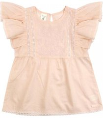 blusa be yourself coral ficcus