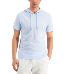 inc men's lightweight ribbed hoodie, created for macy's