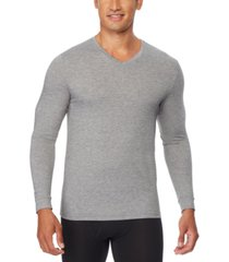 32 degrees men's heat plus long-sleeve v-neck shirt