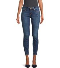 true religion women's halle ankle skinny jeans - snap back - size 32 (10-12)
