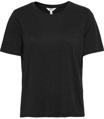 objannie s/s t-shirt noos t-shirts & tops short-sleeved svart object
