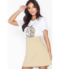 nly trend my perfect a line skirt minikjolar beige