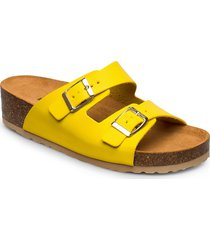 biabetty wedge buckle sandal shoes summer shoes flat sandals gul bianco
