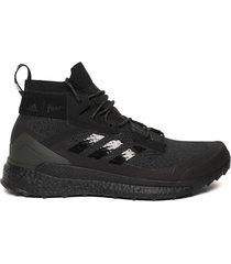 x parley terrex free hiking shoes, core black