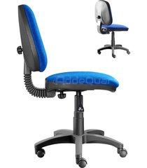 silla de oficina addequar media fija color azul ref:sol-35