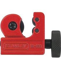 mini cortador de tubos 1/8'' a 5/8'' vermelho e preto