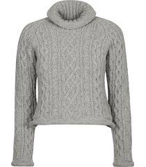 maison margiela turtleneck knit sweater