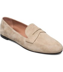 carrie loafer-s loafers låga skor beige boss