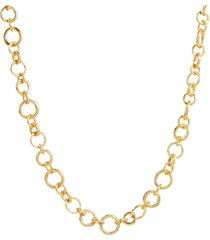 open link gold necklace
