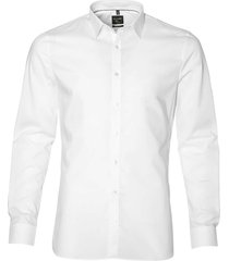 olymp overhemd - body fit - wit