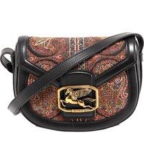 etro paisley-print shoulder bag