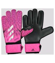 luva adidas predator match rosa