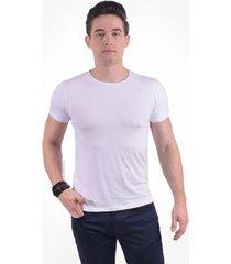 camiseta manga curta gola redonda levok masculina - masculino