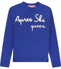 apres ski queen womans sweater