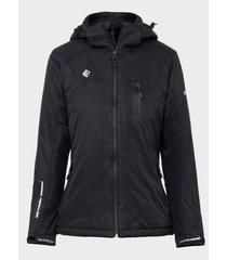 chaqueta fibra yangra negro izas outdoor