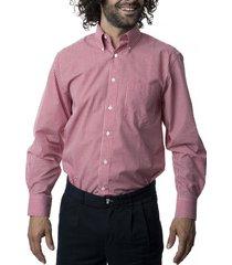 camisa premium cuadrillé rojo kotting
