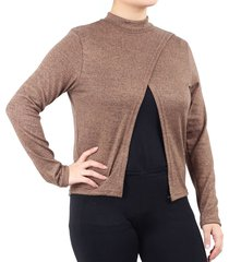 sweater visón minari nicole plus size