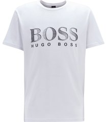 hugo boss heren logo t-shirt - white