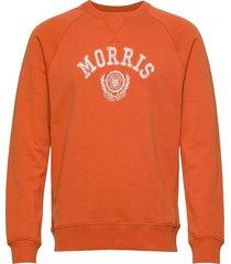 corby sweatshirt sweat-shirt tröja orange morris