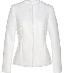 blazer in tessuto bouclé (bianco) - bpc selection