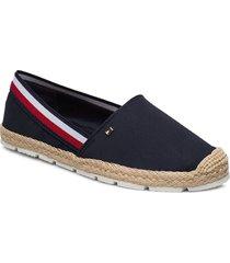 basbasic tommy corp espadrille sandaletter expadrilles låga blå tommy hilfiger