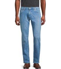 boss hugo boss men's maine regular-fit jeans - aqua - size 36 34