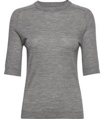 day whitney t-shirts & tops short-sleeved grå day birger et mikkelsen