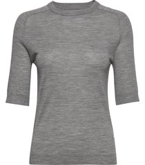 day whitney t-shirts & tops short-sleeved grå day birger et mikkelsen
