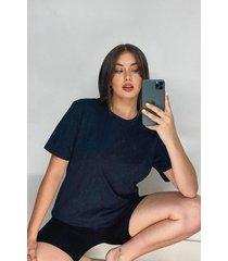 oversized t-shirt en shortset