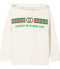 gucci white sweatshirt