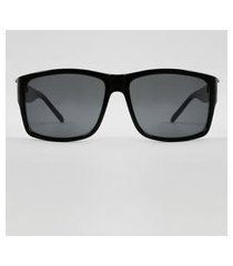 óculos de sol quadrado masculino ace preto