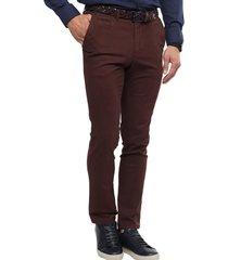 pantalon chino rojo guy laroche