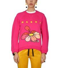 marni sweatshirt with flower print