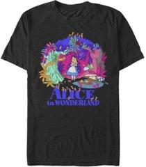 men's alice in wonderland full of wonder short sleeve t-shirt