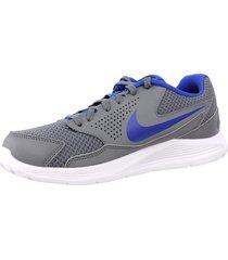 tenis nike cp trainers 2 para hombre-gris-azul-gris-azul