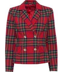 giacca corta con bottoni dorati (rosso) - bodyflirt boutique