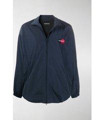 balenciaga uniform oversized jacket