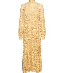 bonni dress 13054 maxiklänning festklänning gul samsøe samsøe