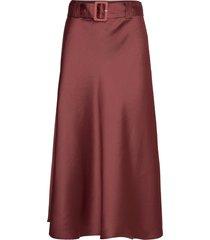 myra skirt lång kjol lila twist & tango