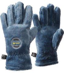 guantes mini degú shaggy-pro glove azul piedra lippi
