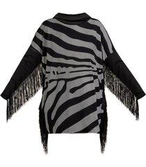 now wild fringe dress
