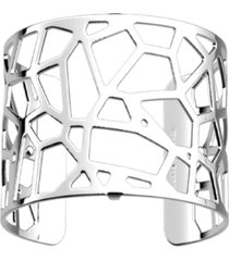 les georgettes by altesse exotic spot openwork wide adjustable cuff bracelet