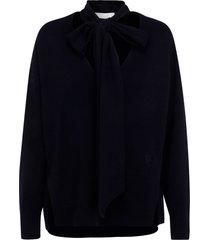 maglione maglia donna scollo a v