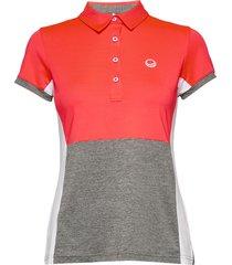 helen women's t-shirt t-shirts & tops polos röd halti
