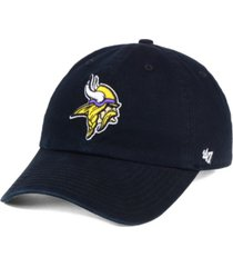 '47 brand minnesota vikings clean up cap