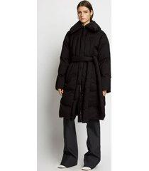 proenza schouler parachute puffer coat 00200 black 8