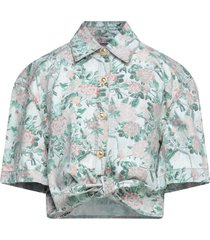chiara ferragni denim shirts